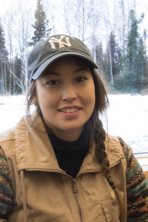 Kendyl Murakami is an avid hiker, rock climber and traveler. She's a 20-year-old biology major at University of Alaska Anchorage.