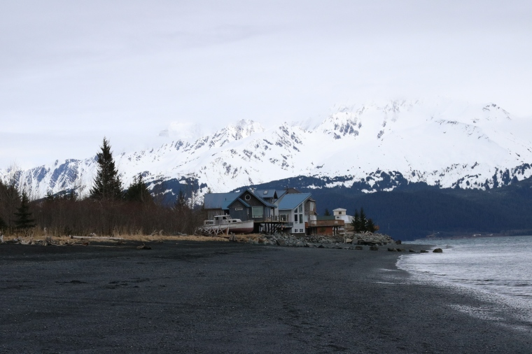 Beach front of Miller's Landing in Seward, Alaska. Photo by Kelly Ireland.