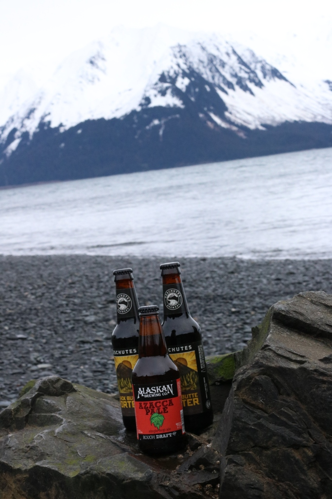 Mountains and beer, two of my favorite things. Photo by Kelly Ireland.